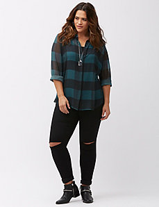 The Muse buffalo check shirt