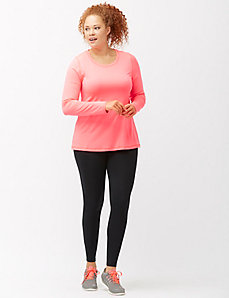 Warming long sleeve active tee