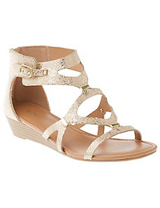Gladiator wedge sandal