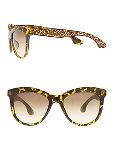 Rock glitter sunglasses