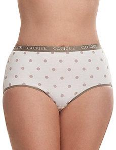 Sassy cotton brief panty