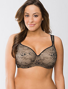 Passion lace balconette bra